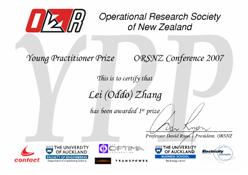 YPP Certificate 2007