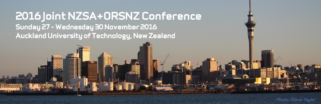 2016 Joint NZSA + ORSNZ Conference