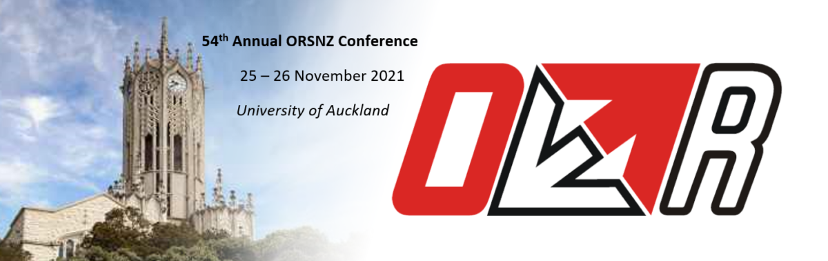 Save the dates: ORSNZ Conference 2021
